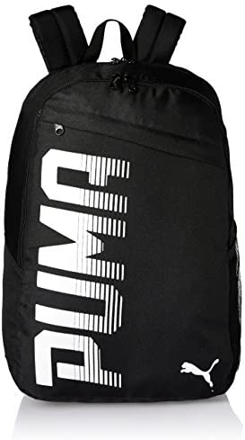 61d0014aa94c Puma Black Laptop Backpack (7566601) at Amazon at Rs.876 at Lowest Price at  SasteSaude