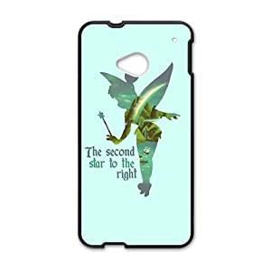 Cute Angel Spirit Black HTC M7 case by lolosakes