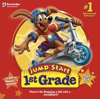 Jump Start 1st Grade (128mb 266mhz Pc)