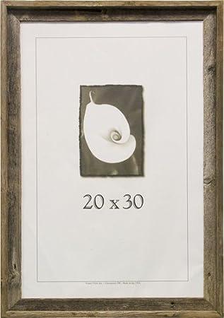 Amazoncom 20x30 Picture Frames Barnwood Frames Single Frames