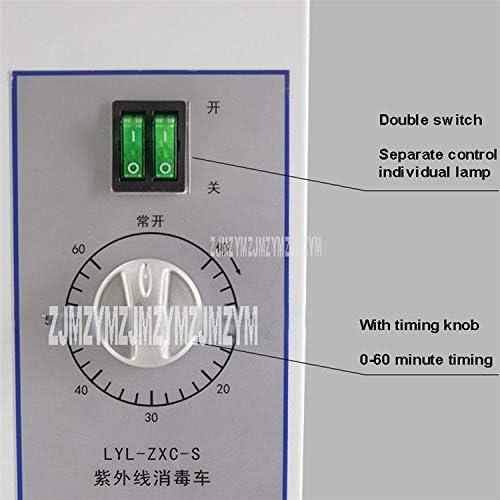 Lampada mobile di sterilizzazione UV + dell'ozono mobile di sincronizzazione telecomandata della lampada mobile di disinfezione UV 80W per la scuola dell'officina della clinica