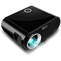 Pyle Portable Multimedia Home Theater Projector - HD 1080p LED with USB HDMI Digital Data System Projection for Entertainment Video Photo Game Full Cinema Movie in Your Laptop PRJLE64