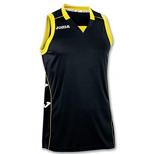 Joma 100049.100 - Camiseta de Baloncesto, Color Negro, Talla 2XL-3XL