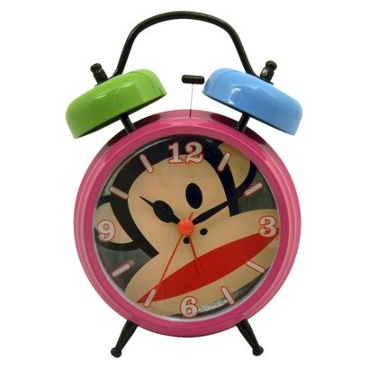 Paul Frank Twin Bell Alarm Clock - Frank Clock Paul
