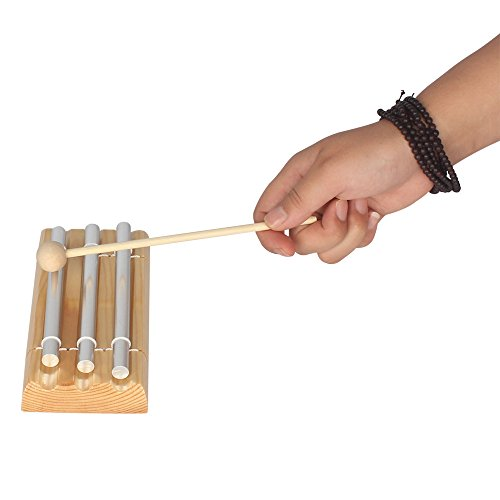 WINGONEER Energy Chime Three Tone with Mallet Exquisite Musical Percussion Instrument by WINGONEER® (Image #5)