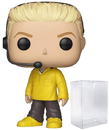 Funko Rocks NSYNC – Lance Bass Pop! Figura de Vinilo (Incluye Funda Protectora Compatible con Pop Box)