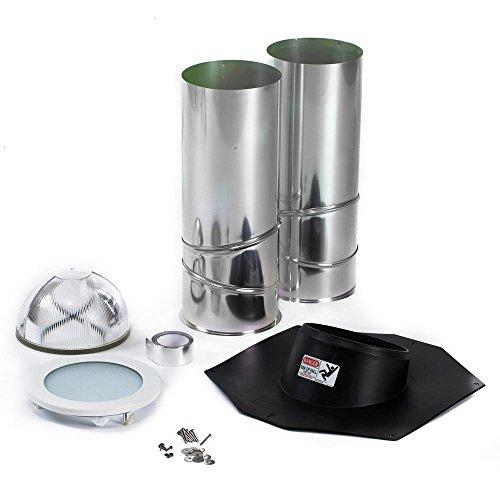 ODL Tubular Skylight Kit - 10in.L x 10in.W x 48in.H, Composite, Model# EZ10SCANH (Skylight Tubular Kit)