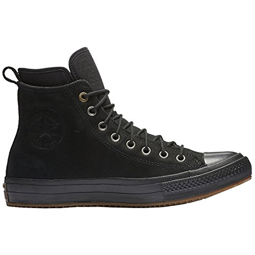 Converse Womens Boots (Converse Womens Chuck Taylor All Star Waterproof Boot Hi Black Nubuck Boots 9 US)