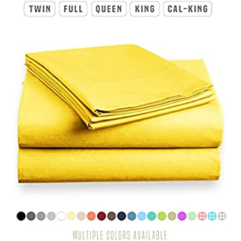 Attractive Luxe Bedding Sets   Queen Sheets 4 Piece, Flat Bed Sheets, Deep Pocket  Fitted