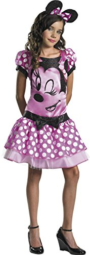 Disguise Costumes Pink Minnie Mouse Tween Costume, Girls, Large (10-12 Months) ()
