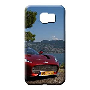 samsung galaxy s6 edge Attractive Protective Protective cell phone carrying skins Aston martin Luxury car logo super