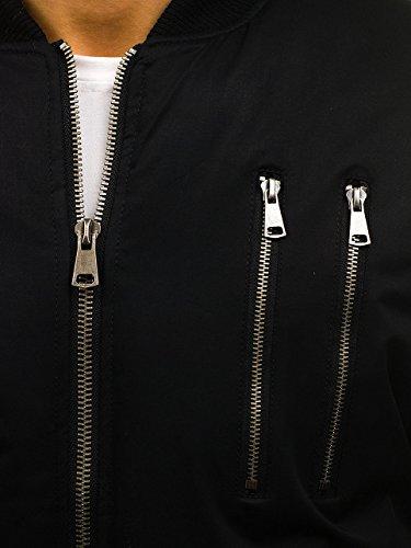 Maschile Transizione Militare Di Pianura Parka 4d4 Mix Cappuccio Casuale Bolf Black Zip r61 dT8Idqw
