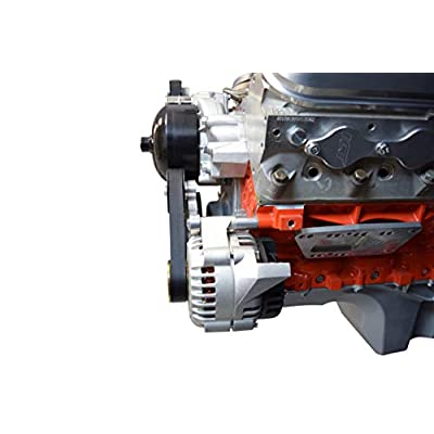 ICT Billet LS1 Camaro Alternator Bracket Factory Style Low Mount LSX LS American Made Billet Aluminum 5.7L Firebird LSX LS3 LS2 LQ4 LQ9 LS6 L92 L99 L33 LR4 551667-2: Automotive