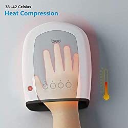 Breo iPalm520S Electric Hand Massager Palm Finger Acupoint Wireless Massage with Air Pressure and Heat Compression for Gift