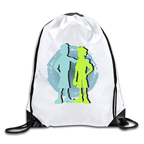 OOONG Cool Men & Women Sackpack Wild Kratts Backpack Sack Bag Gym Bag