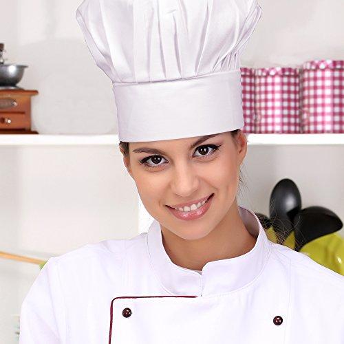 Gourmet Classics Adult Size Adjustable Chef Hat