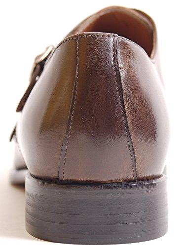 Antica Calzoleria Campana Schuhe | Mod. 1733| Doppelmonk | Kalbsleder | dunkelbraun Dunkelbraun