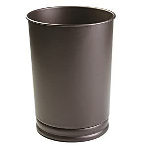 Mdesign Tall Wastebasket Trash Can For