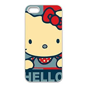 SANLSI Hello kitty Phone Case for iPhone 5S Case