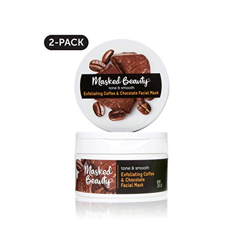 Masked Beauty Exfoliating Coffee & Dark Chocolate Rinse Off Facial Mask, 2 ()