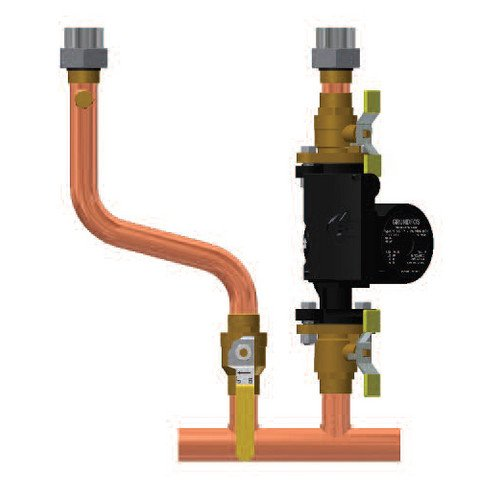Timesaver Primary Secondary Piping Manifold (1.25 inch SWT) for Challenger Solo Boilers