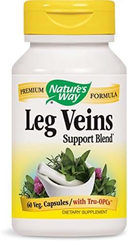 Nature's Way Leg Veins, 60 Capsules (Pack of 2)