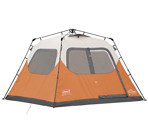 Coleman Waterproof 10 X 9-Feet 6-Person Instant Tent, Orange