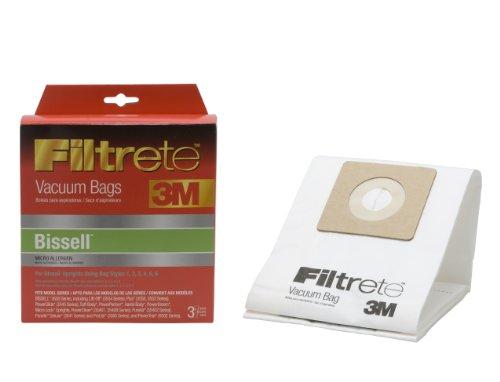 3M Filtrete Bissell Universal Micro Allergen Vacuum Bag, 3 Pack