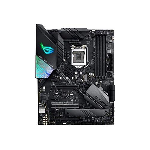 chollos oferta descuentos barato ASUS ROG STRIX Z390 F Gaming Placa base Gaming ATX Intel de 8a y 9a gen LGA 1151 con Iluminación RGB Aura Sync OC por IA DDR4 4266 MHz 2 M 2 con disipación SATA 6Gbps HDMI y USB 3 1 Gen 2