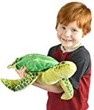 VIAHART Olivia the Hawksbill Turtle | 20 Inch Big Sea Turtle Stuffed Animal Plush | By Tiger Tale Toys