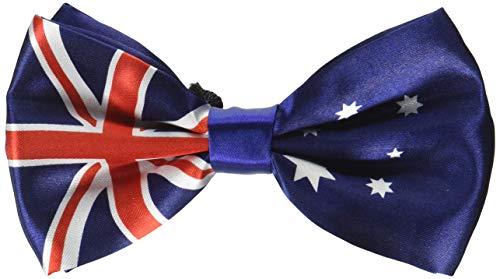 Mirage Pet Products Big Dog Bow - Bandera Australiana, Talla única