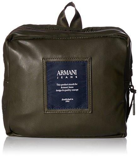 Armani pour Jeans dos main femme Sac Green porté Vert au à Green 0w7q4Uxr0