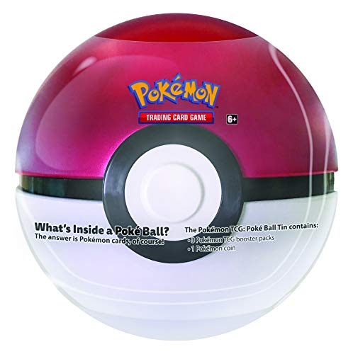 Pokémon TCG: Poké Ball Tin - Ball Pokemon