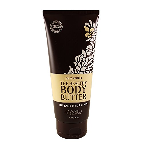 First Vanilla Body Lotion - Lavanila The Healthy Body Butter, Pure Vanilla, 6.7 Fluid Ounce