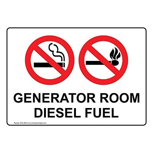 Amazon com : OSWALDO Generator Room Diesel Fuel Aluminum