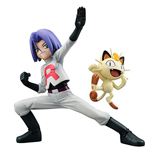 - Megahouse Pokemon: James & Meowth GEM PVC Figure