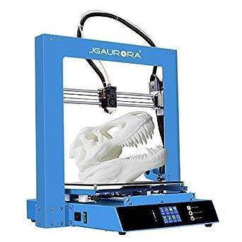 jgaurora A1S Impresora 3d DIY Kit de metal con vida unidad ...