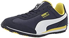 When first introduced in the 80´s this classic runner was an instant hit. Keeping that retro style with classic PUMA no.1 logo on the tongue this lightweight running shoe with its slim silhouette and distinct features is still popular. The wh...