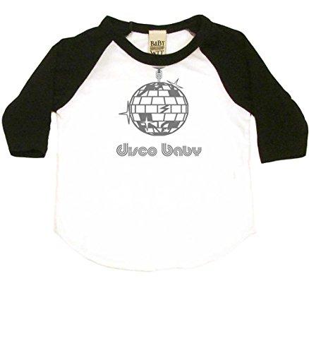 Disco Baby Baby Baseball Shirt, 12-18 MO, ()