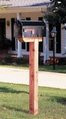 Solar Group DPK Cedar Mailbox Post Kit