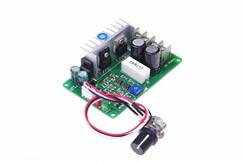 SMAKN® CCMHCW PWM DC Motor Speed Controller Adjustable Current Overload Protector 12V 24V 36V 15A by SMAKN