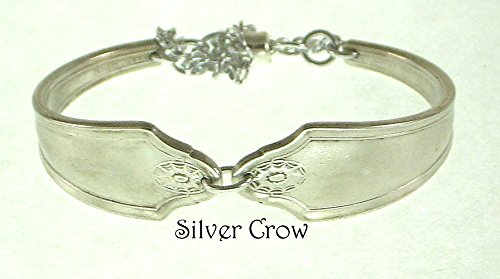 Silverware Bracelet Georgian Pattern Silverplate