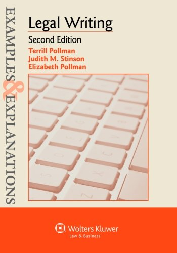 examples-explanations-legal-writing-second-edition-examples-and-explanations