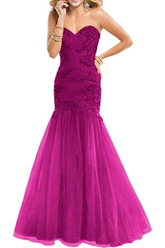 Dunkel Kleider Navy Braut Applikation Jugendweihe Traegerlos La Blau mia  Herzausschnitt mit Spitze Pink Ballkleider Abendkleider ... 78a1e72a21