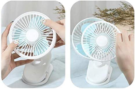 Automatic Head Shaking Dormitory Living Room Bedroom Office Niocaa Clip Mini Fan Desktop Mini Fan USB Rechargeable Fan for Home