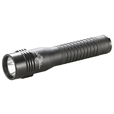 Streamlight 74751 Strion LED High Lumen Rechargeable Professional Flashlight with 120-Volv AC/12-Volt DC Charger and 1 Charger Holder