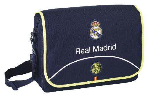 Safta Umhängetasche für Computer-15.6, 40x 27cm (611357340) (Real Madrid C.F.)