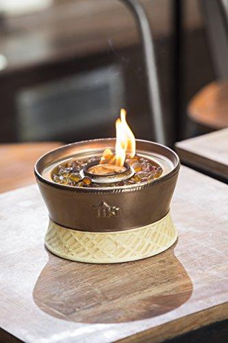 TIKI Brand Clean Burn Ceramic Tabletop Firepiece Torch, 7 ...
