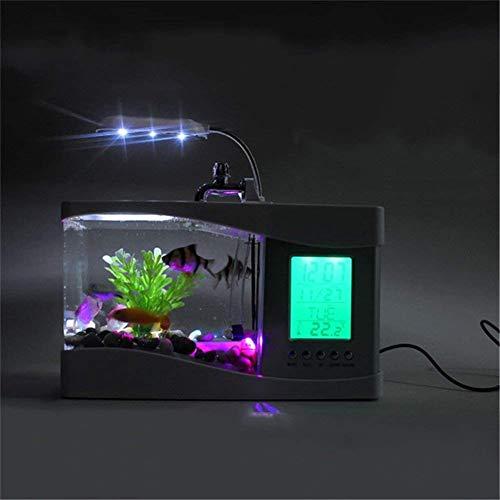 Escritorio USB Mini Acuario LED Lámpara De Escritorio Portalápices Pequeño Eco-Acuario Ornamental.: Amazon.es: Bricolaje y herramientas