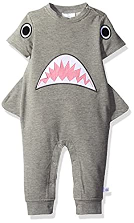 Rosie Pope Baby Boys' Hammer Head Romper, Shark, 0-3 Months